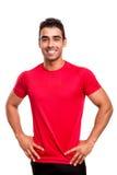 Smiling man posing Royalty Free Stock Photos