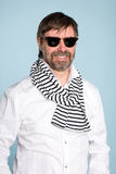 Smiling man wearing sunglasses Stock Photography