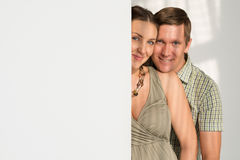 Smiling married couple Stock Image