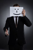 Smiling mask. Royalty Free Stock Photo