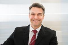 Smiling mature businessman Royalty Free Stock Photos