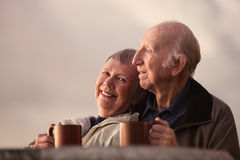 Smiling Mature Couple Royalty Free Stock Photos