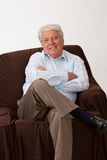 Smiling mature man Royalty Free Stock Photography
