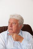 Smiling mature man Stock Images