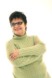 Smiling mature woman Royalty Free Stock Image