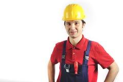 Smiling mechanic Stock Photos