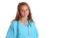 Smiling med student Royalty Free Stock Photos