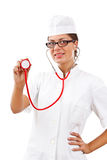 Smiling medical doctor Stock Photography
