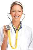 Smiling medical doctor Royalty Free Stock Photos