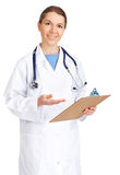 Smiling medical doctor Stock Photos