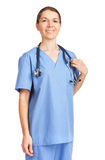 Smiling medical doctor Stock Image