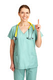 Smiling medical doctor Royalty Free Stock Photography