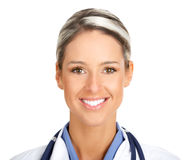 Smiling medical doctor Royalty Free Stock Image