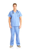 Smiling medical doctor Stock Images