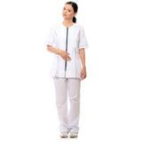 Smiling medical doctor or nurse Stock Images