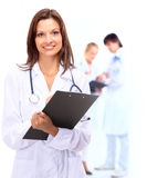 Smiling medical doctor and Over Stock Images