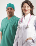 Smiling Medical doctors Royalty Free Stock Photo