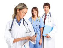 Smiling medical doctors Royalty Free Stock Photos