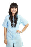 Smiling medical nurse Royalty Free Stock Image