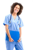 Smiling medical nurse Royalty Free Stock Images