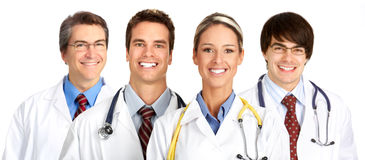 Smiling medical people Royalty Free Stock Image