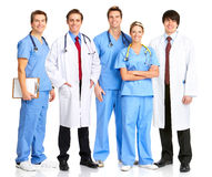 Smiling medical people Stock Photography