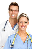 Smiling medical people Royalty Free Stock Photography