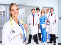 Smiling medical people Royalty Free Stock Photos