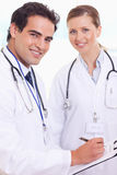 Smiling medical staff Royalty Free Stock Image