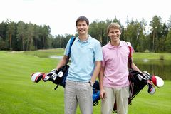 Smiling men Royalty Free Stock Photo