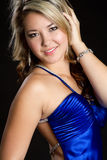 Smiling Mexican Girl. Beautiful glamour mexican girl smiling Stock Images