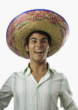smiling Mexican man Stock Photography