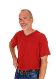 Smiling middle age man. Stock Photography