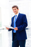 Smiling middle aged business man Royalty Free Stock Photo