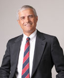 Smiling Middle aged Businessman royalty free stock photo