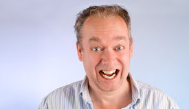 Smiling Middle Aged Man Royalty Free Stock Image