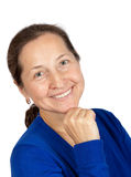 Smiling Middle Aged Woman Stock Images