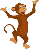 Smiling monkey Royalty Free Stock Photos