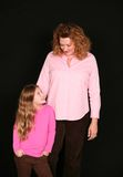 Smiling mother and daughter Royalty Free Stock Photography