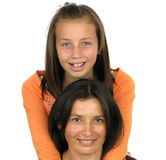 Smiling Mother daughter Stock Photos