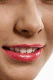 Smiling mouth Royalty Free Stock Images