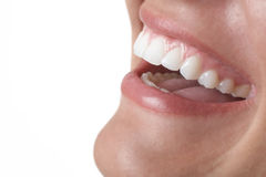 Smiling Mouth stock photography