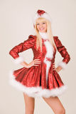 Smiling mrs. Santa Claus Royalty Free Stock Images