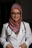 Smiling Muslim Doctor Stock Photos