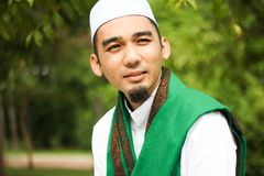 Smiling Muslim Man Royalty Free Stock Photography