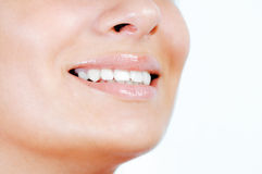 Smiling natural beauty Royalty Free Stock Images