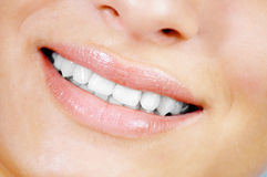 Smiling natural beauty Stock Photos