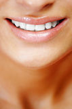 Smiling natural beauty Royalty Free Stock Photography