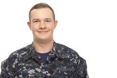 Smiling navy man Royalty Free Stock Image