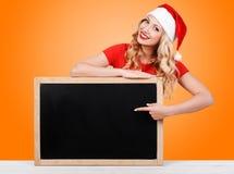 Christmas girl, winter concept Stock Photos